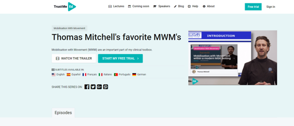Thomas Mitchell Webinar